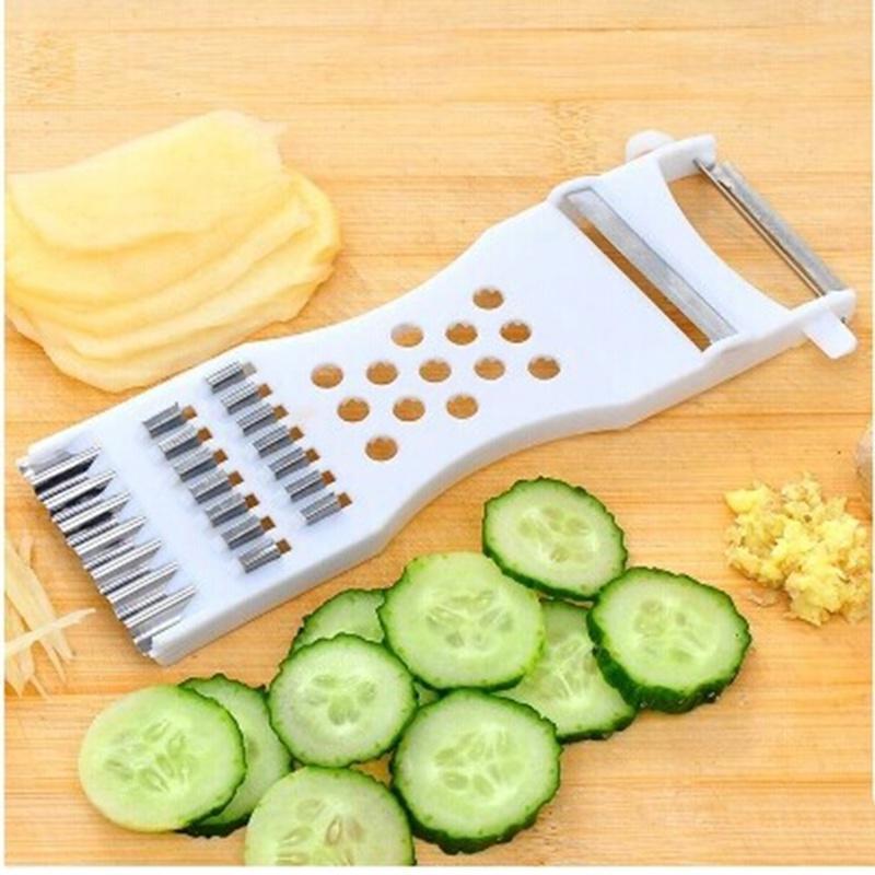Многофункциональные кухонные инструменты огурец срезов картофеля Терка фото