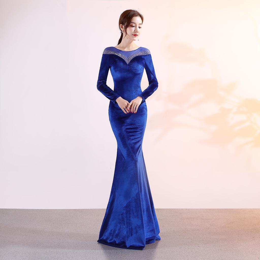 Slim Bodycon Formal Party Dress Women Sexy Prom Gown Celebrity ...