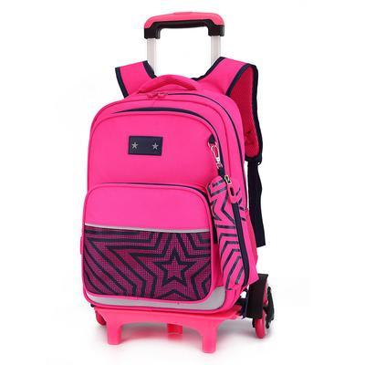 da86029c85dd Дети колесо тележки девушка рюкзак колеса на школьные сумки мальчиков  школьников путешествие багажа