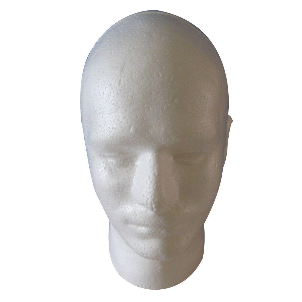 Cosmetología de pantalla peluca hombre maniquí cabeza soporte modelo ...
