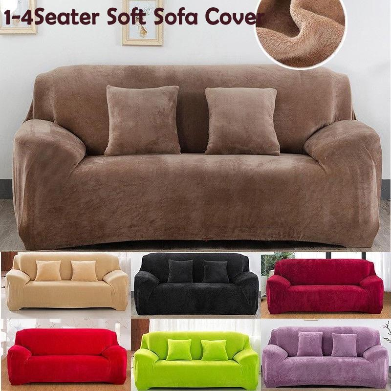 Thick Autumn And Winter Sofa Cover, Slip Cover Sofas