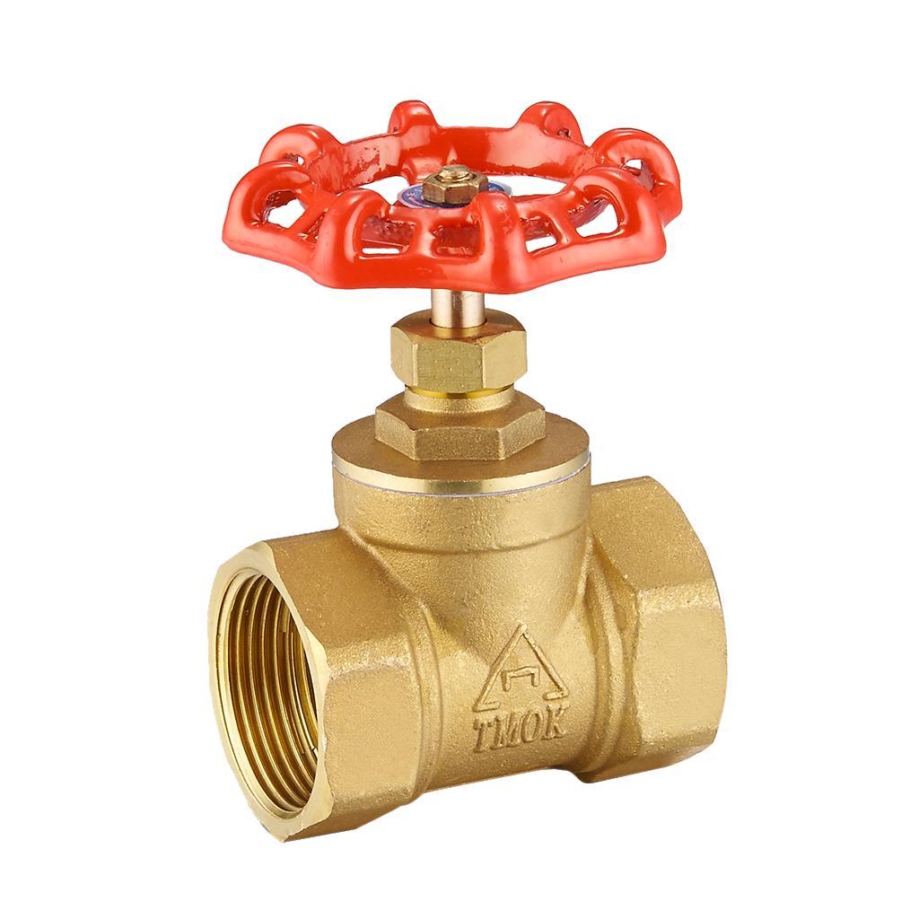 Válvula de bola de Aire Latón Apagado Interruptor G1//8 Hembra a Hembra Acoplador Tubo
