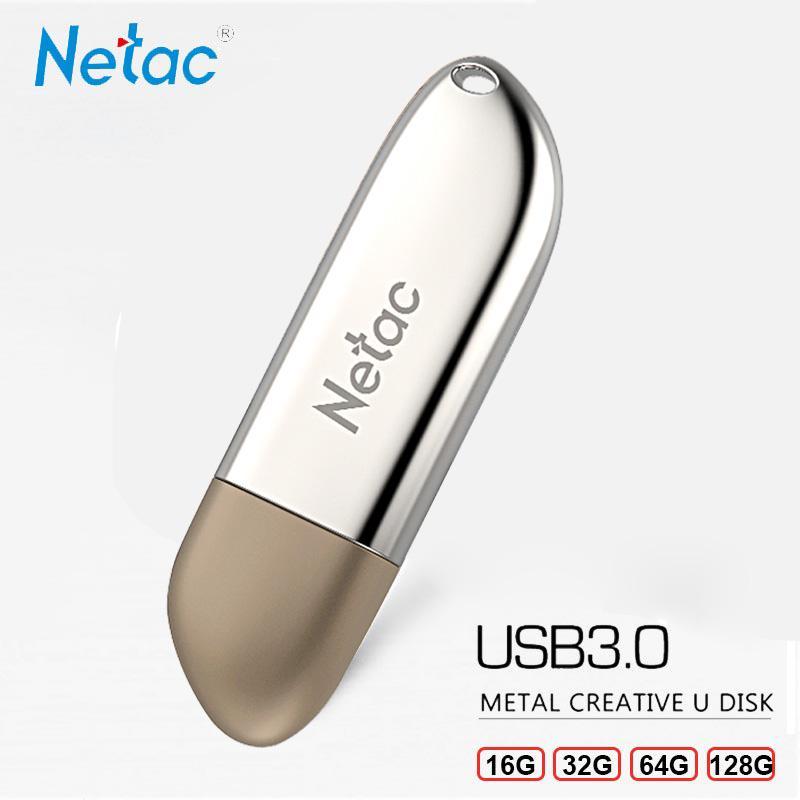 EAGET F90 High Speed USB3.0 USB Flash Drive Metal Memory Stick 16G 32G 64G 128G