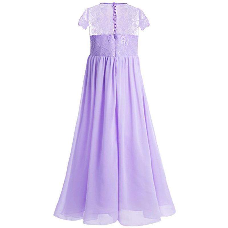 Muchacha faldas largas para cumpleaños que niños ropa de fiesta ...