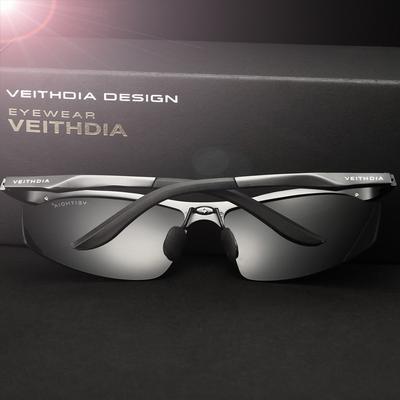 VEITHDIA Aluminum Men/'s Polarized Sunglasses Pilot UV400 Sport Driving Eyewear