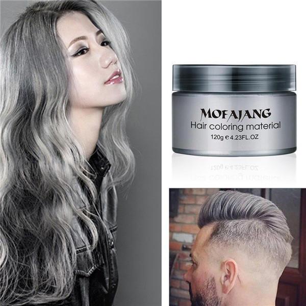 Haare männer färben graue Haare grau