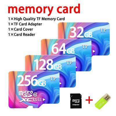 2017 32GB-512GB High Speed Blue Wave MicroSD SD/TF Card Class10