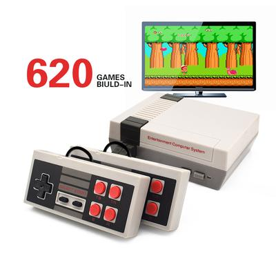 Retro Classic Game Consoles Built-in 620 Childhood Classic GameConsole+Dual Control