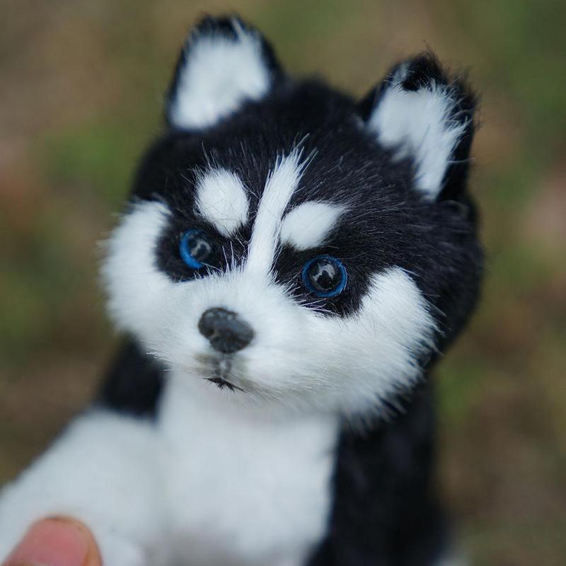 Realistic Dog Simulation Toy Dog Puppy Lifelike Stuffed Companion Toy Pet BEST