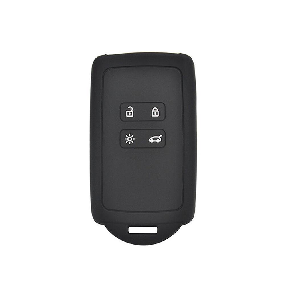4 Button Remote Silicone Key Case For Renault Koleos Kadjar Megane Fob Cover