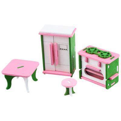 Casa Miniatura Muñecas Muebles Niño Juego Madera De zUMGSpqV