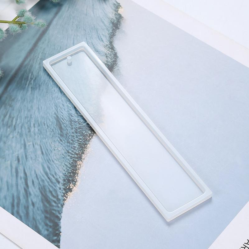 Rectangle Silicone Mold Mould Epoxy Resin Jewelry Bookmark DIY Craft Mold