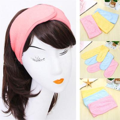 a254b01c97c Women Pregnant Headband Spa Bath Shower Make Up Wash Face Cosmetic Hair Band