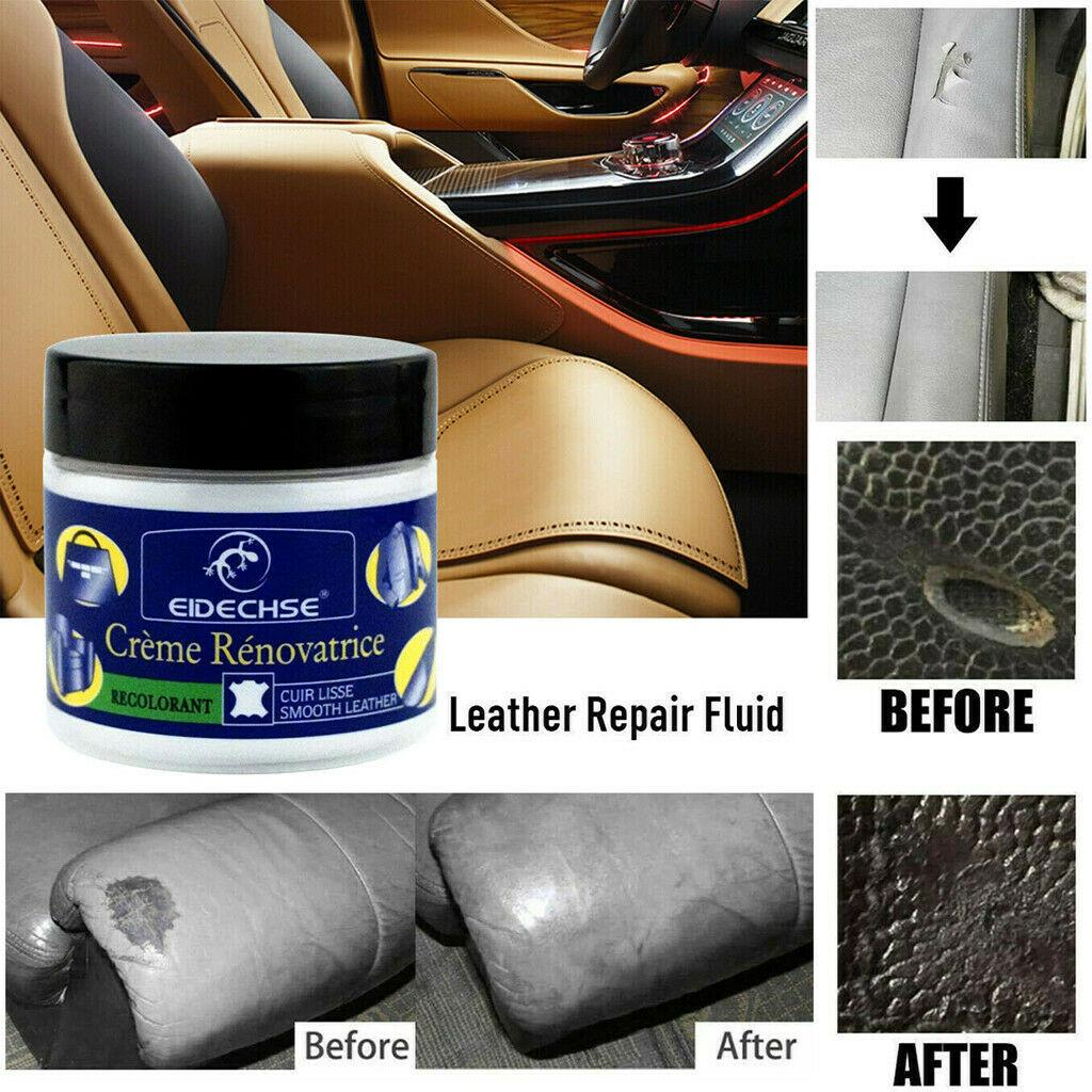 Vinyl Repair Kit Auto Car Seat Sofa, How To Fix Burn Hole In Leather Car Seat