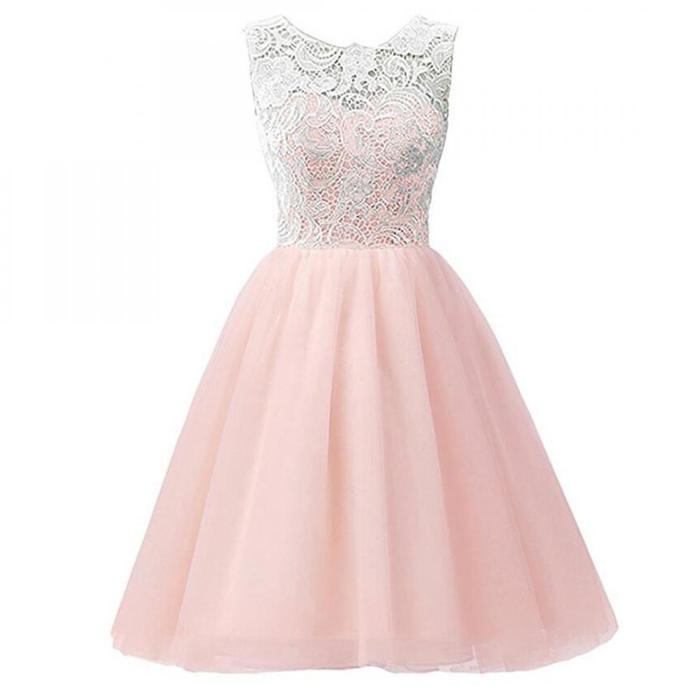 Elegante vestido de novia bordado encaje Maxi flor vestido princesa ...