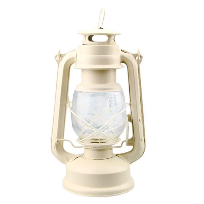 Retro Antique Oil Lamp Electric Lantern, Electric Lantern Table Lamps