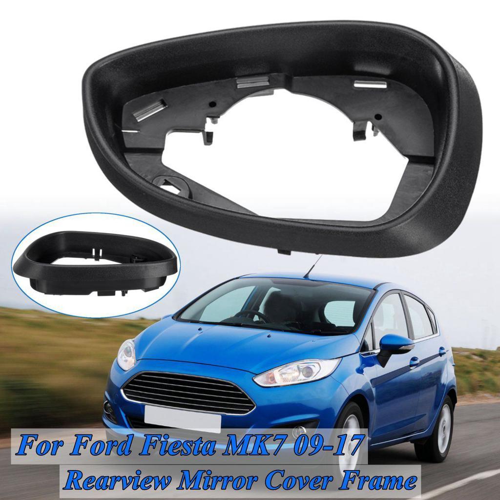 Left Right Car Rear View Mirror Cover Frame Trim Cap For Ford Fiesta MK21  21 21 21 21 20121