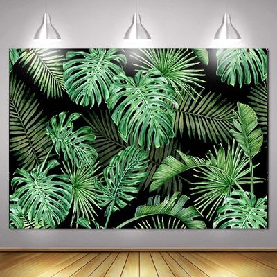 DaShan 12x8ft Jungle Safari Animals Backdrop Woodland Baby Shower Kids Children Jungle Theme Birthday Party Photography Background Tropical African Forest Kid Boy Newborn Portrait Photo Props