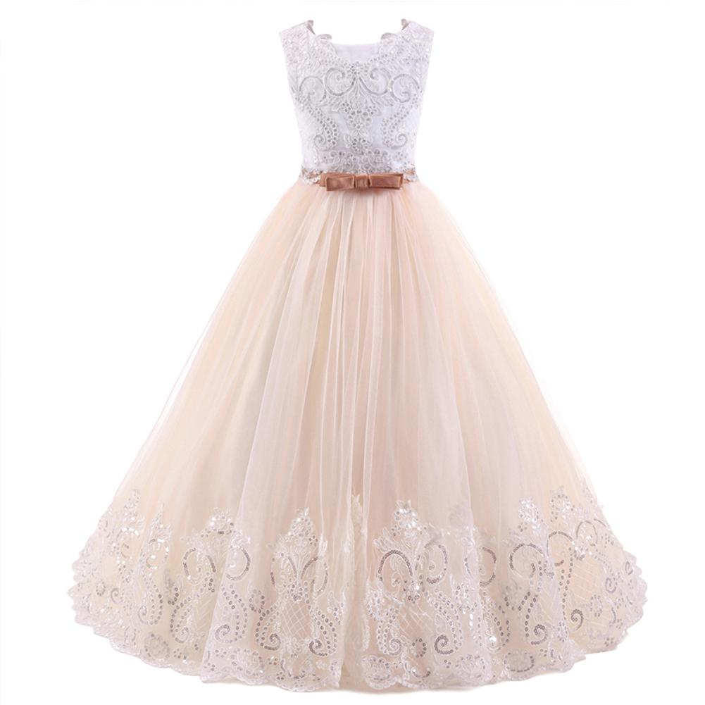 07a125d42b Occident Children Tutu Princess Dress Słodka Śliczna Suknia ślubna ...