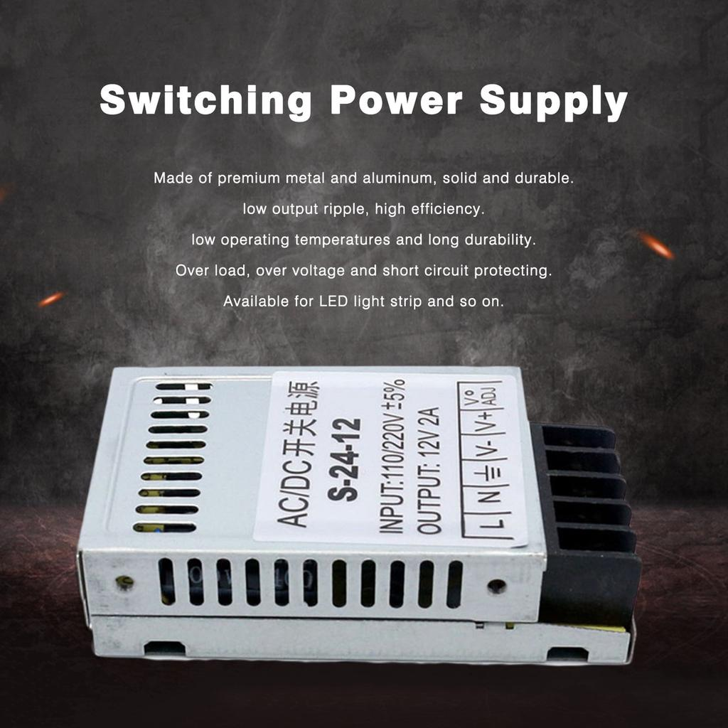 Eenergy Universal Ac Dc Switching Power Supply 12v 2a 24w Ultrathin Led Light Circuit 2 Of 10