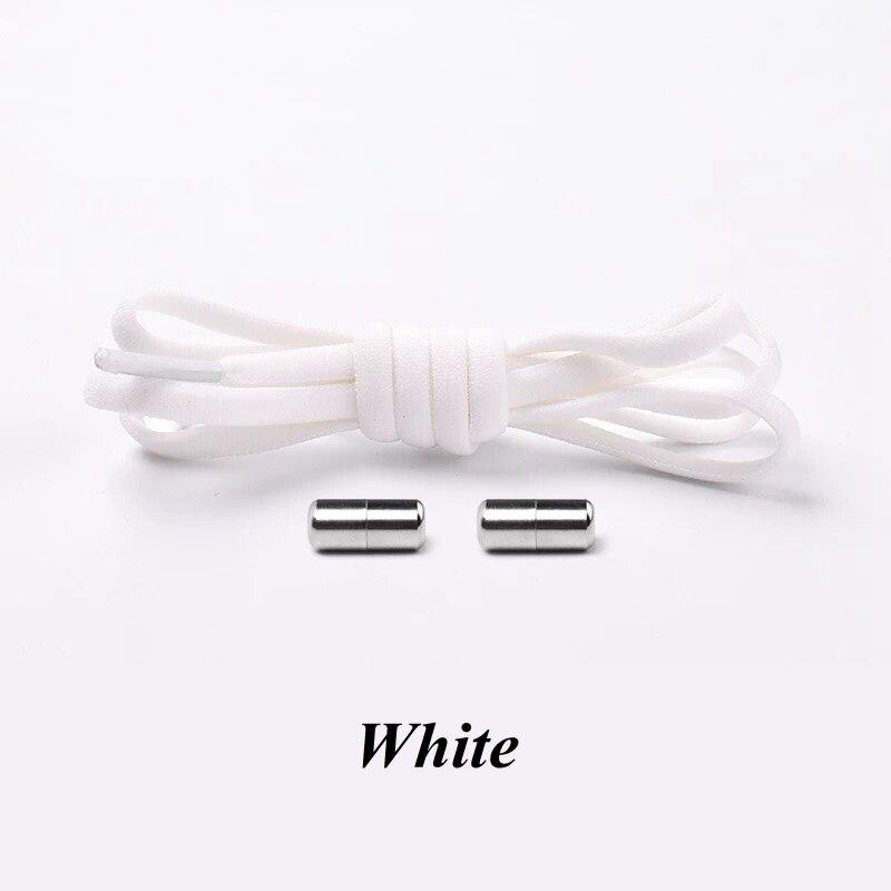 Details about  /Elastic No Tie Shoelaces Semicircle Shoe Laces For Kids and Adult Sneakers