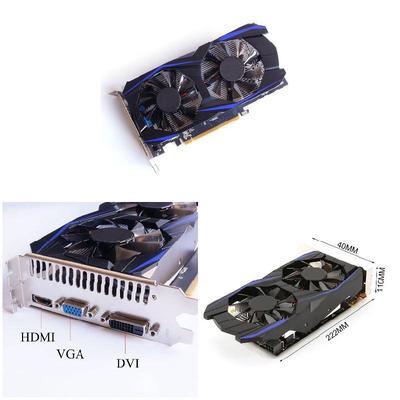 Retrofit GTX1050TI 4G DDR5 128bit Gaming Video Graphics Card