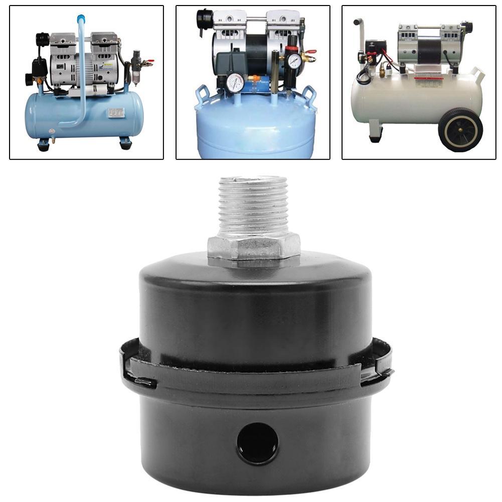 """5/8"""" 16 мм резьба глушителем шума фильтр глушитель для Компрессор воздушный насос – купить по низким ценам в интернет-магазине Joom"""