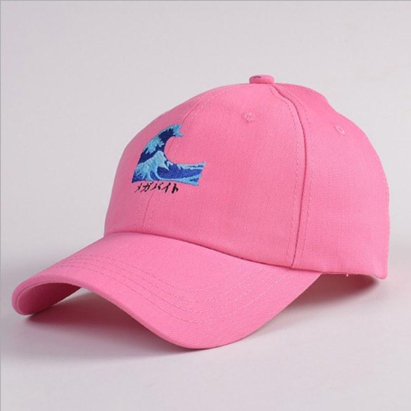 Nueva moda Unisex béisbol Cap viajes sombrero Casual tapa mar onda ... cdfa6f52e74