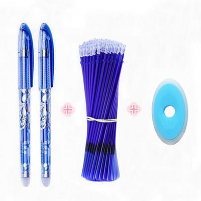 12/13Pcs Erasable Pen Set 0.5mm Blue Black Ink Writing Gel Pens Washable Handle for School Office Supplies