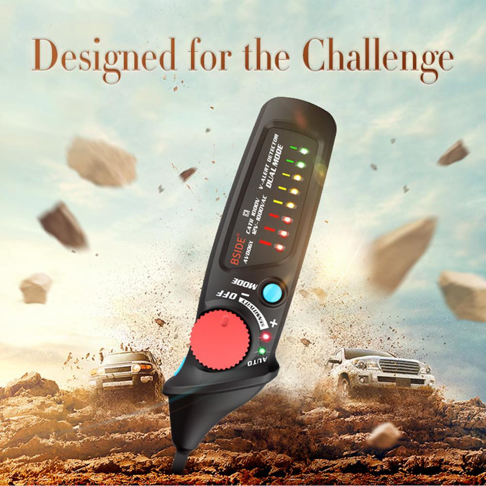 BSIDE AVD06X 12-1000V Adjustable Sensitivity Non-contact Voltage Test Pen #K