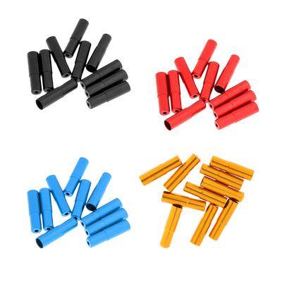 5Pcs 4mm Alloy Bike Bicycle Brake Shift Cable Housing Lined Ferrules End Caps