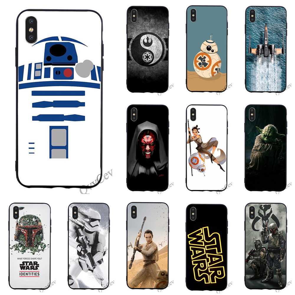 Star Wars Phone Case iPhone 7 8 Plus Samsung A50 Huawei Xiaomi Redmi