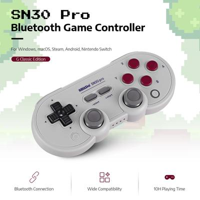 8Bitdo N30 Pro 2 Wireless Bluetooth Controller Gamepad with