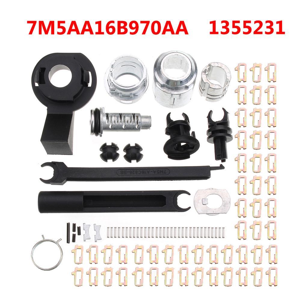 Ford Focus MK2 Bonnet Release Lock Latch Catch Repair Set 2004-2012 1343577