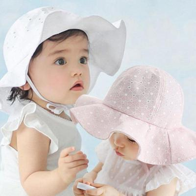 03e67ecc34d Lovely Toddler Infant Baby Girl Summer Wide Brim Sun Protection Beach  Cotton Hat