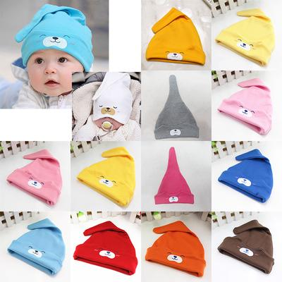 c367f861d92 Baby Cute Cartoons Sleep Cap Infant Caps Head Wear Unisex Children Animal  Cotton Multi Color
