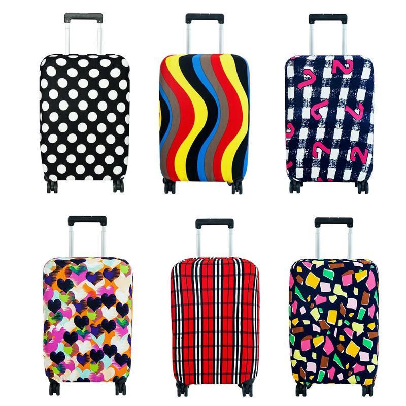 Эластичный защитный чехол для чемодана