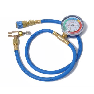 Car Auto AC Air Conditioning Refrigerant R134A 340mm Hose Can Tap +