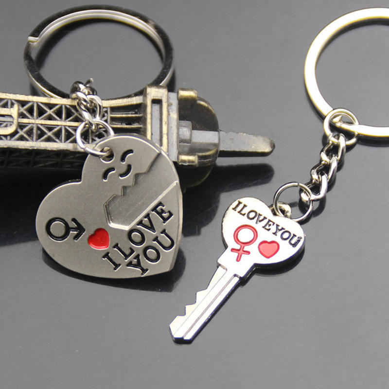78d6067d1a Heart Arrow Couple Key Chain Ring Keyring Keyfob Lover-buy at a low prices  on Joom e-commerce platform