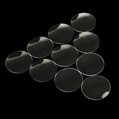 10pc Domed Mineral Glass Mirror Watch Lens Replacement Parts Watchmaker 28mm