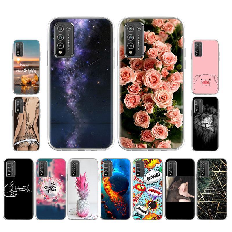 Fundas De Teléfono Ajustadas Para Huawei Honor 10x Lite 6 67 Pulgadas Funda De Silicona Patrones De Teléfono Parachoques Protectores De La Piel Comprar A Precios Bajos En La Tienda En Línea Joom