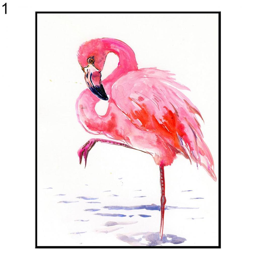 Flamingo Canvas Wall Art Canvas Art Ocean Print Flamingo Canvas Flamingo Wall Art Flamingo Prints Flamingo Painting Flamingo Wall Decor
