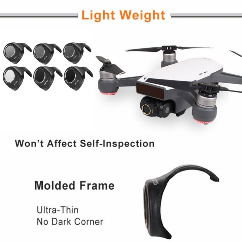 16//8 for DJI Gopro Action Camera 4 in 1 HD Drone Camera ND32 4 Lens Filter Set for DJI Mavic Pro