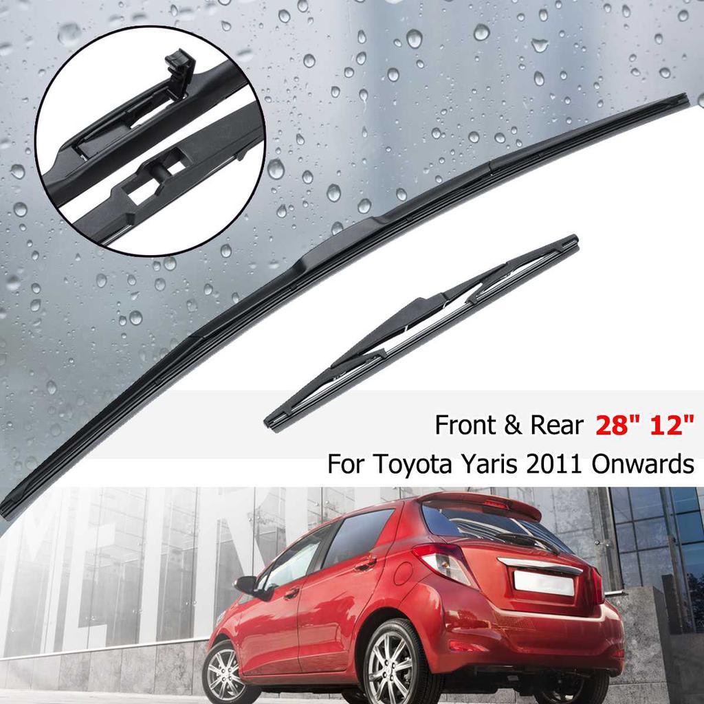 Chrome Rear Window rain Wiper blade cover trim For toyota HIGHLANDER 2008-2013