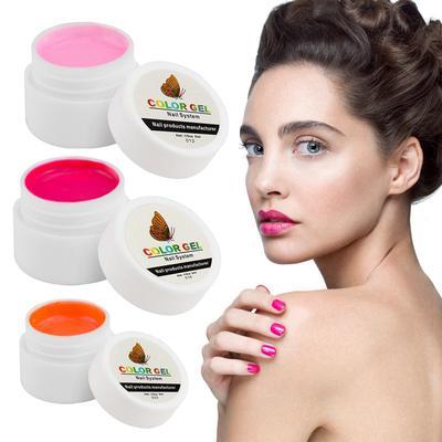 FairyGlo 5ML 36 Pure Color UV Nail Gel Polish Super Long Lasting Nail Art Tips Extension