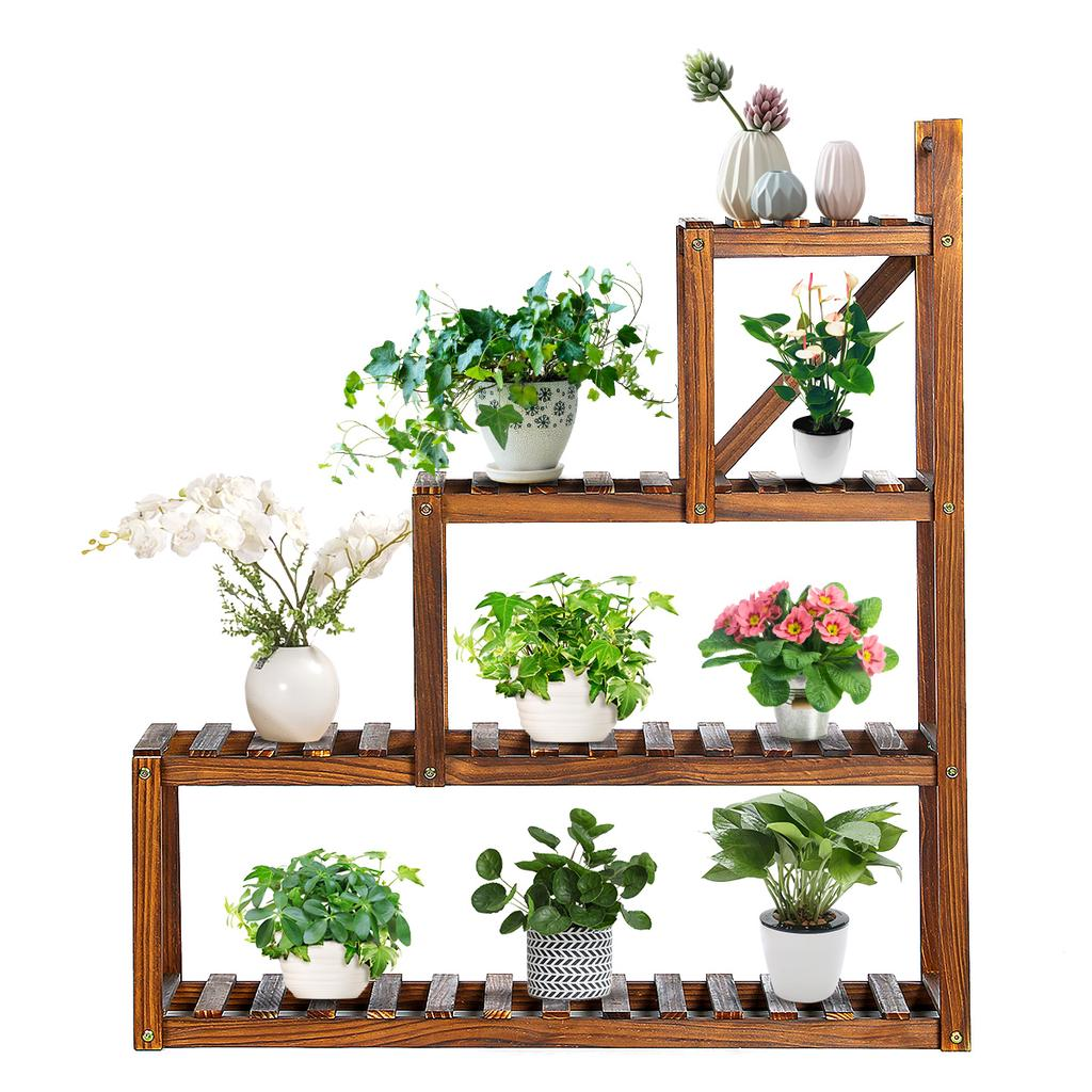 8 Tier Wooden Plant Stand Balcony Garden Flower Plant Stand Display Shelf  Corner Stand Display Shelf buy at a low prices on Joom e commerce platform