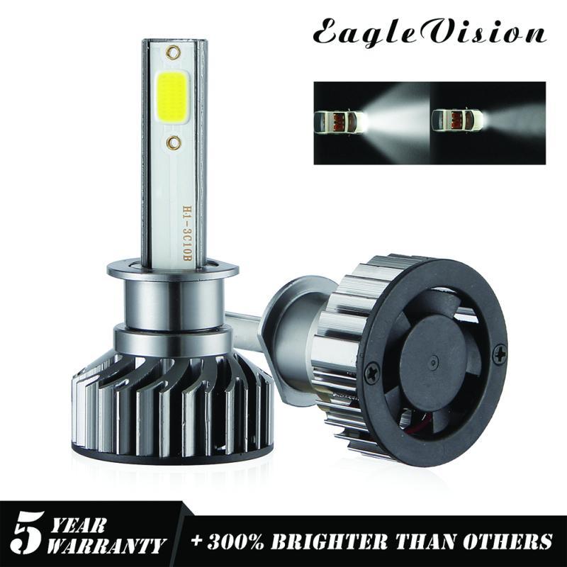 9006 HB4 1500W 150000LM Mini LED Headlight Bulbs CSP Driving Lamps 6000K White