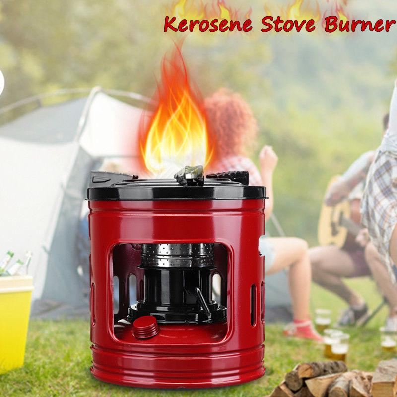 Handy 8 Wicks Kerosene Stove Camping Outdoor Picnic Oil Burner Portable Tool