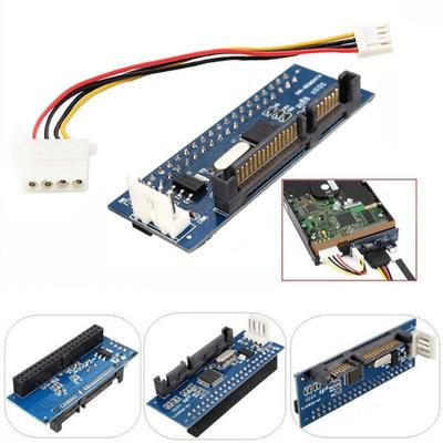40-Pin IDE Female To SATA 22-Pin Male Adapter ATA To Serial SATA