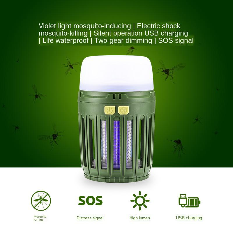 USB Charging Multi-function LED Tent Light Outdoor Waterproof SOS Powe Home